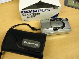 Olympus Superzoom 105R 35mm Camera