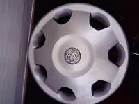 "Genuine Vauxhall corsa 14"" wheel trims. Set of four"