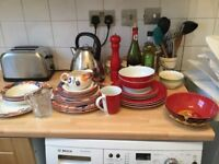 Assorted crockery/dining set