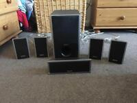 Sony SS-TS80 5:1 Surround Sound speakers
