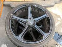 4 x 22 inch tyres