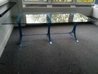 GLASS BOARDROOM/ DINING TABLE. Free delivery!!!
