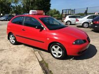 Late 2005 Seat Ibiza 1.2 SX 3 Door **Long MOT** *Low Mileage** (polo,fabia,corsa,fiesta)