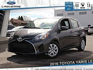 2016 Toyota Yaris **LE*AUTOMATIQUE* CRUISE*A/C*