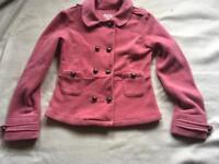 Girl's NEXT Pink Waist Jacket Age 14 Yrs used £4