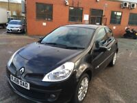 2008 Renault Clio Diesel Good and Cheap Runner with history and long mot