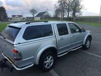 57 plate ISUZU RODEO DENVER MAX 3.0ltr auto NO VAT TO PAY