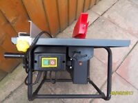 a small table saw