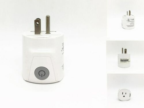 ZigBee Smart Plug Model: F-Out-US-2 for home and office use Refurbished White