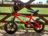 "Urban Racer 12"" child's bike suitable for 3 - 5 year old"