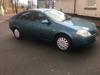 53 REG NISSAN PRIMERA 1.8 PETROL 88K DRIVES LOVELY GREAT FAMILY CAR MUST SEE CHEAP PRICE