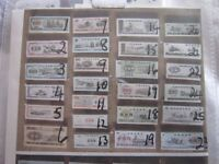 CHINESE BANKNOTE AND FOOD COUPONS (£15 PER SET) FROM CULTURAL REVOLUTION PERIOD, MINT CONDITION!!
