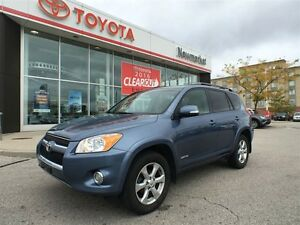 2010 Toyota RAV4 ONE OWNER - DEALERSHIP MAINTAINED - CERTIFIED