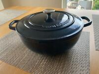 Argon Tableware cast iron casserole dish 27cm