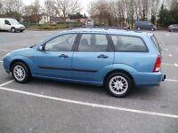 ford focus estate 1.6 petrol,zetec 2001