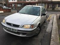 Cheap Honda Civic 1.4 vtec starts and drive.. not Clio focus polo