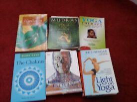 YOGA BOOKS FOR SALE