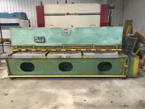 CISAILLE HYDRAULIQUE / SHEAR  10' X 1/4""