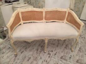 Shabby chic/French 2 seater