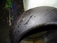 3 motorbike tyres, in good condition!