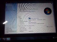 zoostrom laptop win7 225gb hard drive, 2gb ram, celeron 900 cpu 2.2ghz