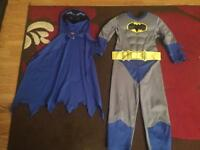Batman costume age 5-6