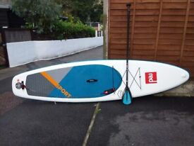 Red 11'3 Stand Up Paddle Board for sale