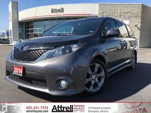 2014 Toyota Sienna FWD SE. Power Doors, Backup Camera, Fog Light