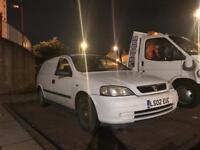 2002 Vauxhall Astra van with long mot