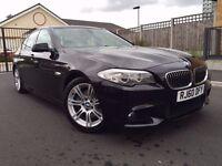 2011 BMW 520d M SPORT - 1 OWNER - JET BLACK - BUSINESS NAVIGATION - FULL LEATHER - BLUETOOTH -