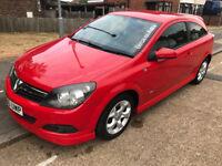 vauxhall astra sxi 2006 red 3 doors petrol Long MOTnot yaris bmw micra