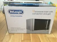DeLonghi microwave and convection oven