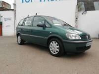 02 Vauxhall Zafira 1.8 16v Club Automatic 7 Seater MPV Family Car Cheap Auto Galaxy Sharan Alhambra