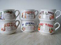 Recipe Soup Bowls - 6 Individual
