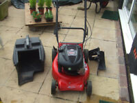 ROVER REGAL MULCH AND CATCH PETROL SELF PROPELLED LAWN MOWER