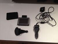 Garmin nuvi 310 with case holder and charger