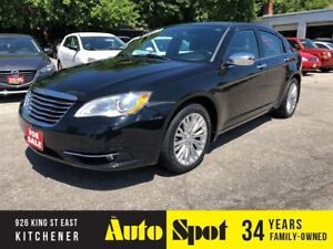 2013 Chrysler 200 Limited/LOW, LOW KMS/PRICED -QUICK SALE!