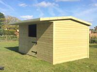 Stable field shelter