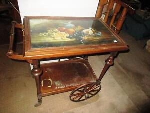 Clearance Vintage Tea Cart $150.00