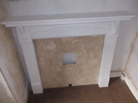 Marble Fire Surround and Mantlepiece