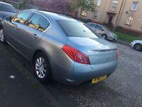 Peugeot 508 .2.0 lt nav full options 2011 .£2900
