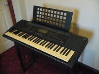 Yamaha PSR 320 Full size MIDI keyboard - 61 Touch Sensitive Keys - stand