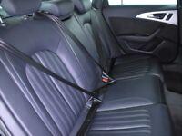 "AUDI A6 2.0 TDI ULTRA S LINE [20"" Alloy Wheels, Heated Seats] 4DR S TRONIC Au (black) 2016"