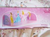 Disney princess shelf