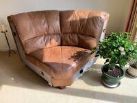 Sofa set genuine leather