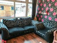 Lovely used sofa and chair.