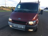 2006 FORD TRANSIT T280 100 Swb Low Roof Burgandy Low Mileage