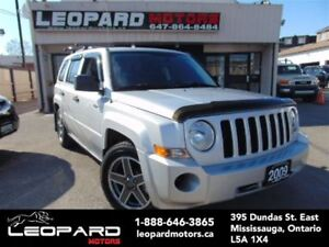 2009 Jeep Patriot Sport/North,4x4,Heated Seats*No Accident*