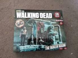 Walking Dead boiler room construction set