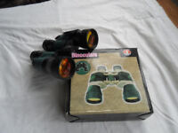 Binoculars with Case and Coated lenses.